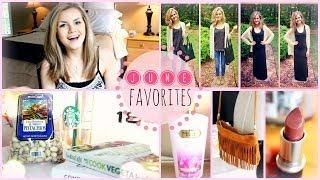 ♡June Favorites 2014 ☼ Fashion, Beauty, Food & More!♡ Thumbnail