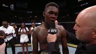 UFC 236: Исраэль Адесанья - Слова после боя