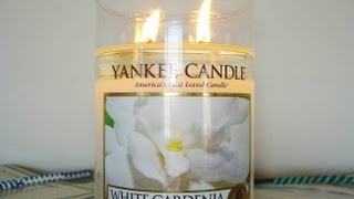 Yankee Candle Review- Candle of the Week: White Gardenia