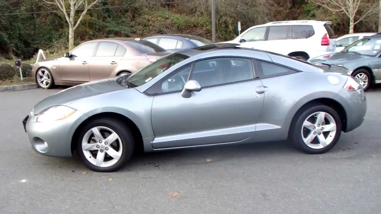1 Owner 2007 Mitsubishi Eclipse GS Automatic Coupe 35k Miles Like New!