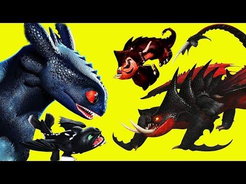 ❤️ СМЕРТОХВАТЫ ❤️ НОВЫЕ ДРАКОНЫ ❤️ Как приручить дракона 3: Скрытый мир❤️