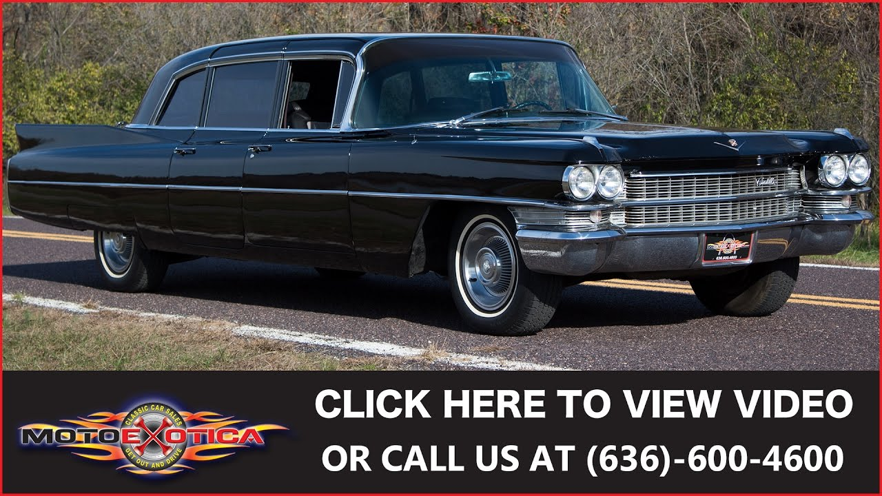 1963 Cadillac Series 75 Limousine    For Sale - YouTube