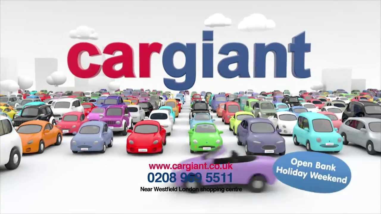 cargiant tv advert choice