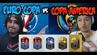 FIFA 16 - Copa America Vs EuroCopa - El Partido Definitivo !!!