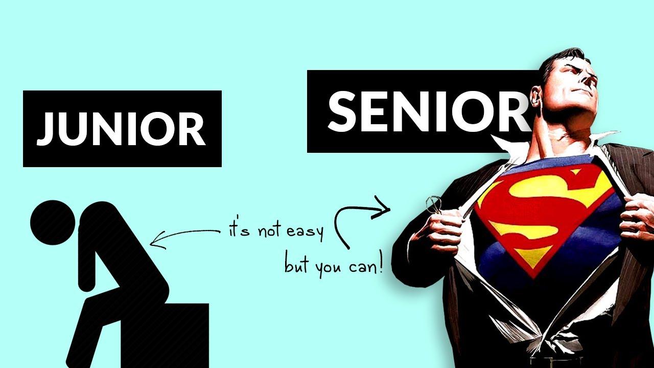 Junior Developer, Mid-Level Developer & Senior Developer   Seniority Levels