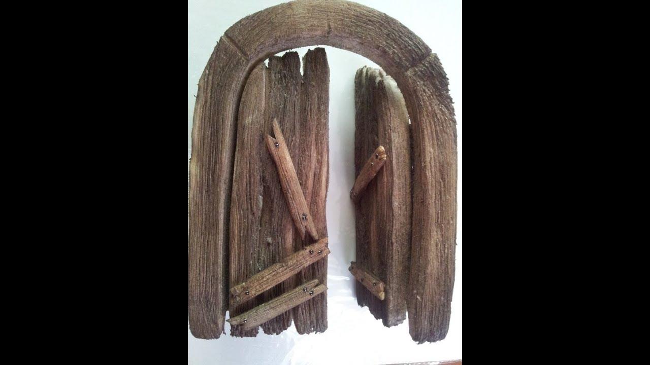 portales de madera