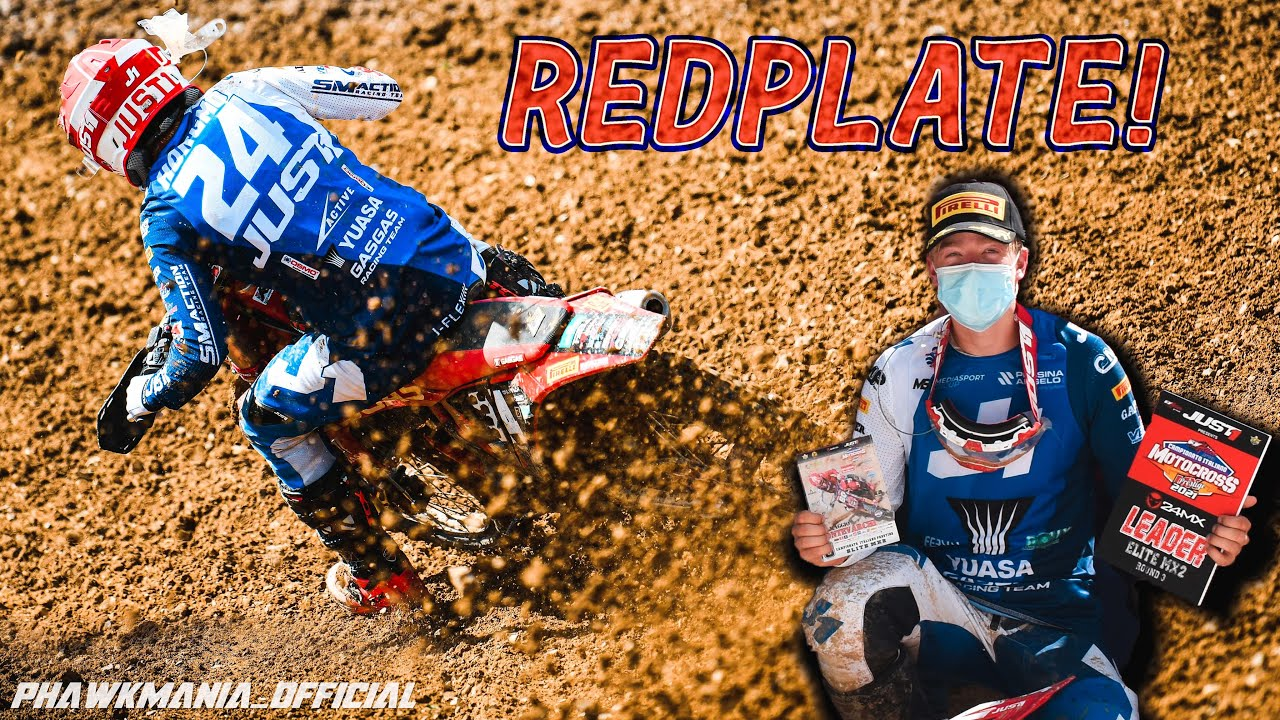 Got the RED plate - ITAMX R3 // Kevin MX