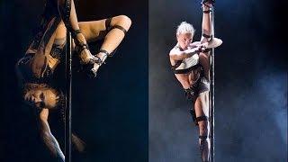 Сексуальный,супер танец на пилоне.(Танец на пилоне всегда выглядит сексуально. Этот танец требует хорошей растяжки и гибкости, а так же физиче..., 2015-07-21T17:17:21.000Z)
