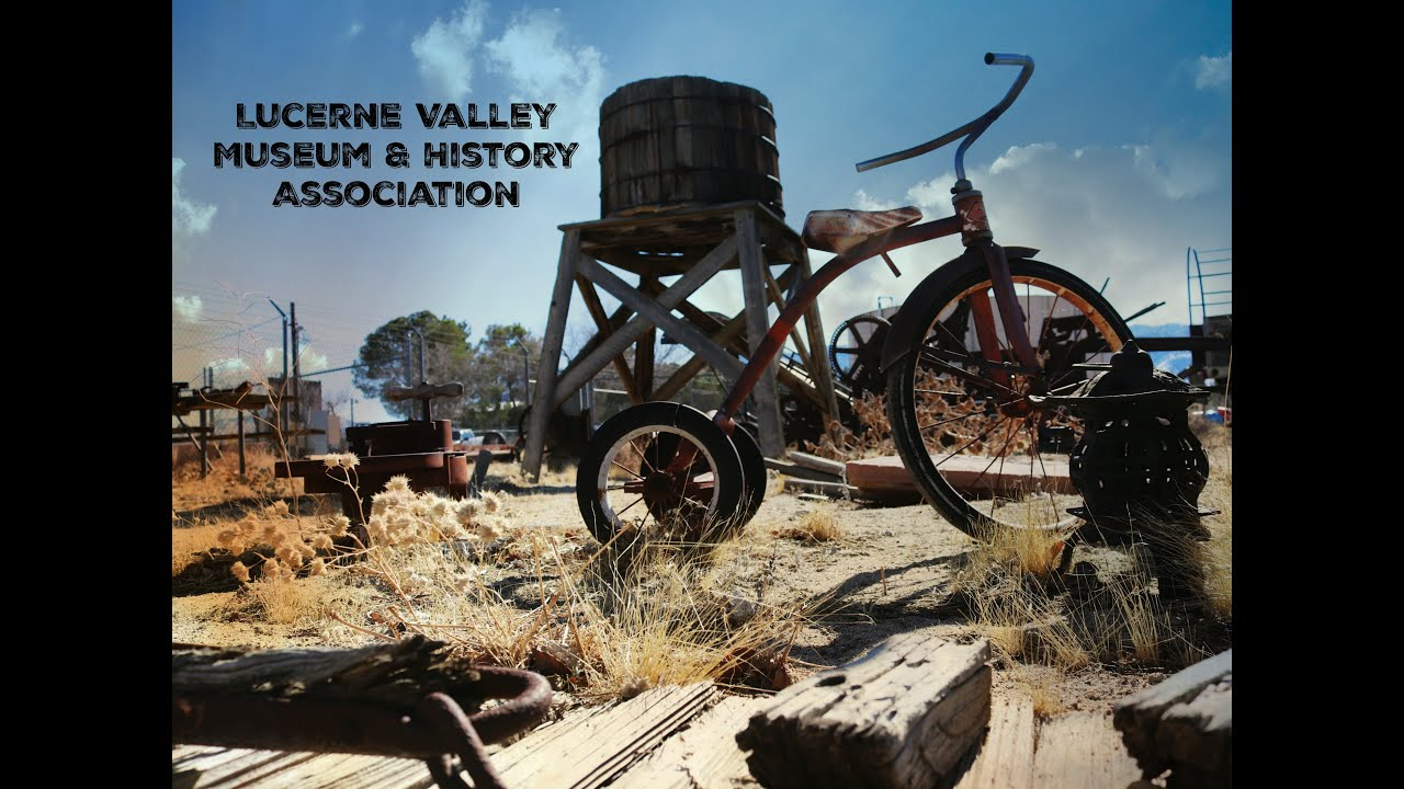 1/2 FAST tv 12/31/19 featuring THE LUCERNE VALLEY MUSEUM