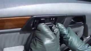 Mercedes-Benz W124 Door Panel Removal Tutorial
