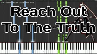Persona 4 - Reach Out To The Truth (Synthesia)