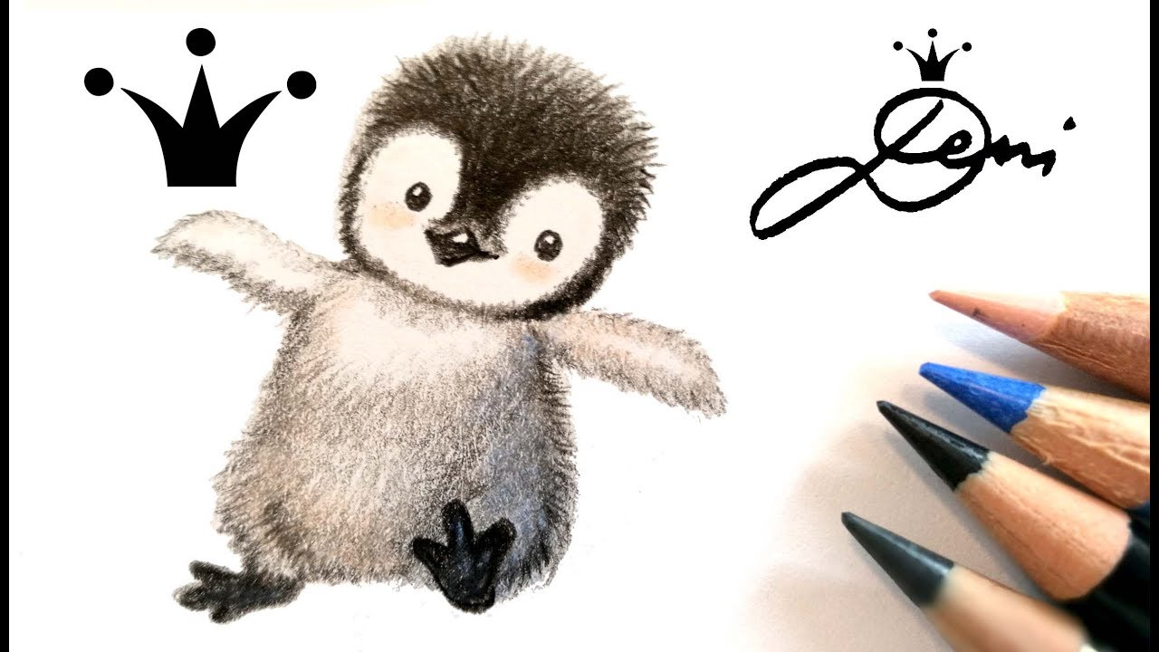 40 pinguin malen einfach  besten bilder von ausmalbilder