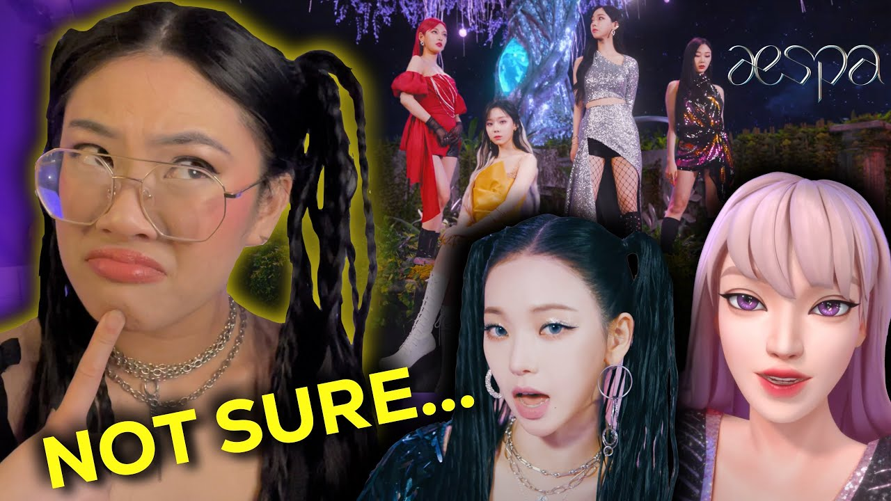 REACTING to AESPA 에스파 'Next Level' MV - HONEST FIRST LISTEN REACTION & REVIEW