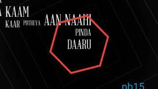 #khauf #singaa Khauf ||Singaa|| new Punjabi Whatsapp status black background video 2019
