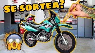 REVIVIENDO EL HONDA XR ABANDONADO // QUE COLOR LA PINTO? !