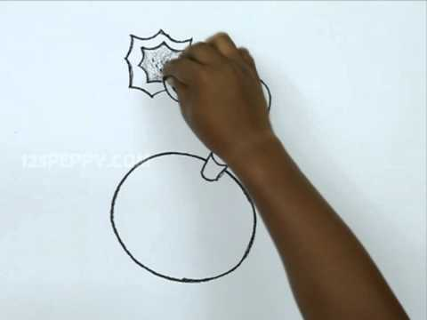 A Bomb Drawing How to Draw a B...