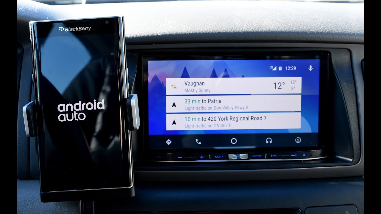 how to change default navigation android auto