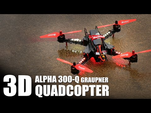 3D Quadcopter - Graupner Alpha 300Q w/ Steel Davis + Chad Nowak | Flite Test