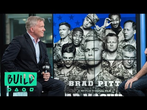 "Anthony Michael Hall Discusses Netflix's Movie ""War Machine"""