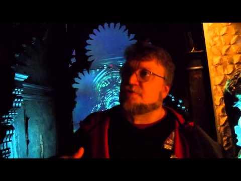 Guillermo Del Toro Guided Tour Of 'Crimson Peak'
