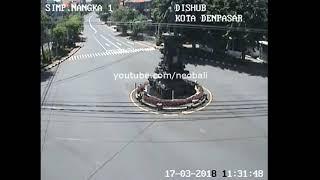 Pantauan Live CCTV Sepinya Suasana Jalan Raya Di Bali Saat Hari Raya Nyepi 2018