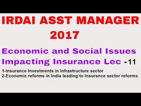 Economic and Social Insurance Investment in Infrastructure Lec11