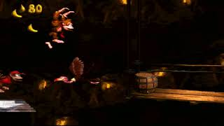Donkey Kong Country (SNES) Chimp Caverns - Platform Perils