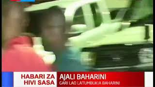 HIVI SASA: Gari latumbukia baharini Mombasa
