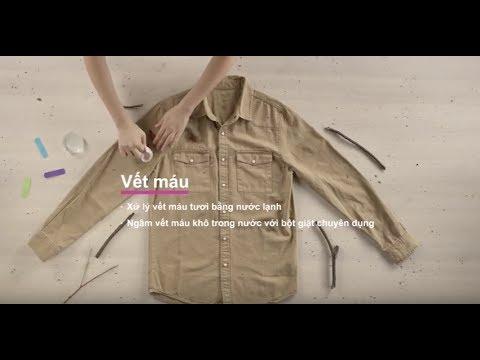 Cách loại bỏ các vết bẩn dính trên quần áo (với màn hình cảm ứng) | Electrolux