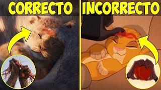 15 Errores de Disney en el Rey León