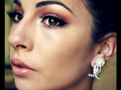 Simple And Elegant Bridal Makeup : Elegant Makeup Tutorial? - YouTube