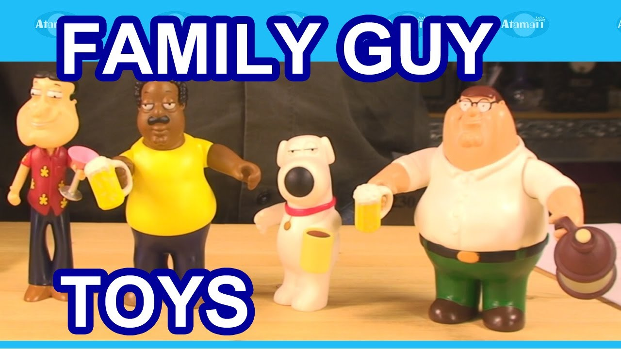 Toys For Family : Family guy toys review unboxing youtube