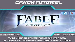 [CRACKGAME PC] FABLE ANNIVERSARY