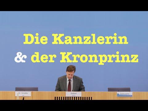Die Kanzlerin & der Kronprinz - Komplette Bundespressekonferenz vom 9. Mai 2016