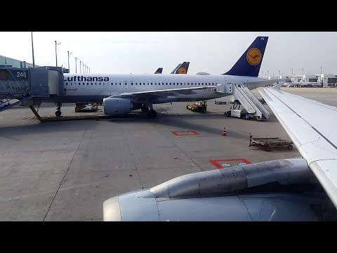 A320 Lufthansa Мюнхен - Москва