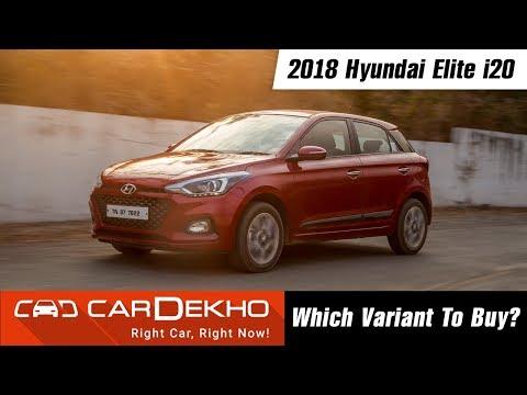2018 Hyundai Elite i20 - Which Variant To Buy? | CarDekho.com