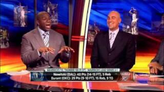 Magic Johnson on Dirk