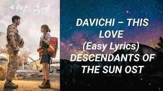 Download Davichi - This Love (Easy Lyrics) Descendants of The Sun OST Part 3