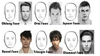Choose The Best Hairstyle For Your Face Shape |  How To Pick A New Men's Hair Style