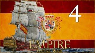 EMPIRE: Total War | Imperio Español #4 - UNA DE MAR Y OTRA DE ARENA