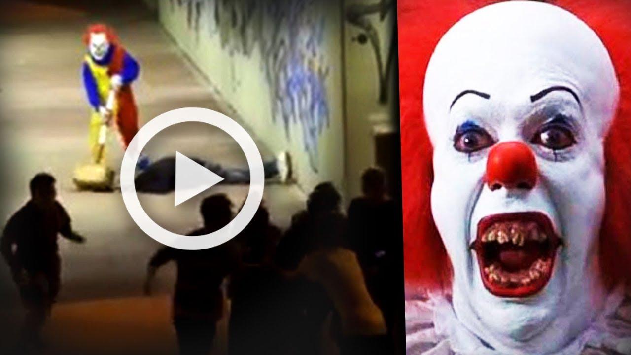 Download L'attaque d'un VRAI CLOWN TUEUR en France FILMÉE (Joker challenge)
