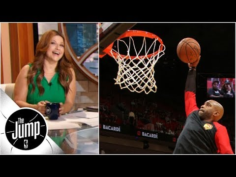 Vince Carter should be in 2019 NBA dunk contest - Rachel Nichols | The Jump