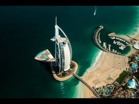 Fly above Dubai in 4K | Burj Al Arab & Jumeirah Zabeel Saray