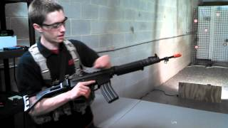 Airsoft Gi Uncut Fn Herstal Full Metal Fnc Aeg Airsoft Gun Youtube