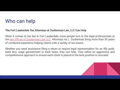 How To Find the Best Tax Preparer in Fort Lauderdale?