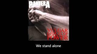 Gambar cover Pantera - Fucking Hostile (Lyrics)