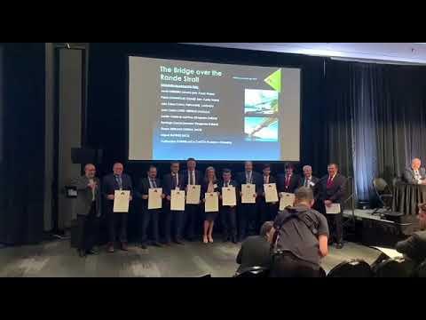 Audasa recibe el Nobel de la ingenería por la ampliación de Rande