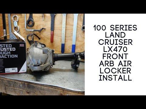 100 Series Land Cruiser Front ARB Locker Install