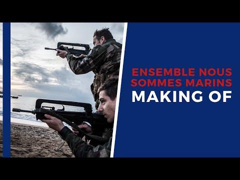 Making of du clip de recrutement de la Marine nationale