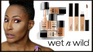 new wet n wild photo focus foundation concealer first impression wear test